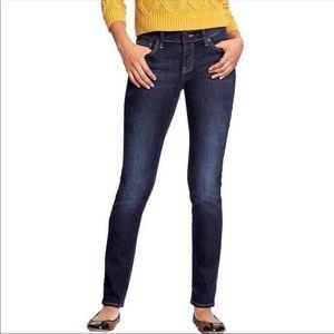 OLD NAVY dark wash The Flirt skinny jeans